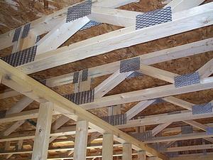 Устройство перекрытий деревянного дома Как самому
